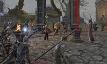 Logan and Saurkor Knighting